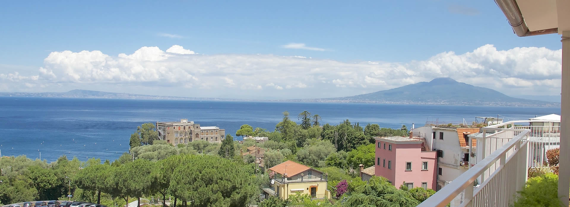 Our rooms are panoramic and equipped with every comfort. Spend an unforgettable holiday in Sorrento!